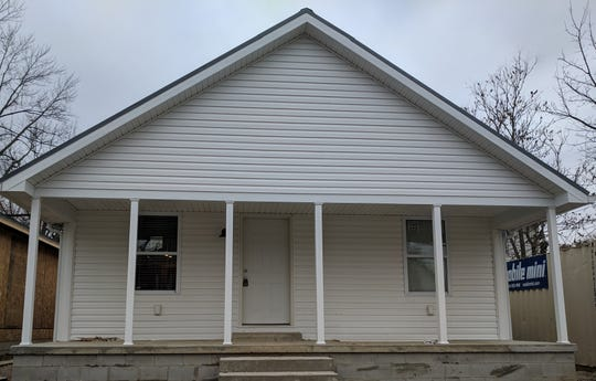 This Habitat home was purchased in November by Clara Wood and family at 385 W. Columbia Street.