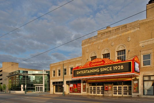 Orpheum And Halloran Centre Exterior Photo Credit Justin Fox Burks