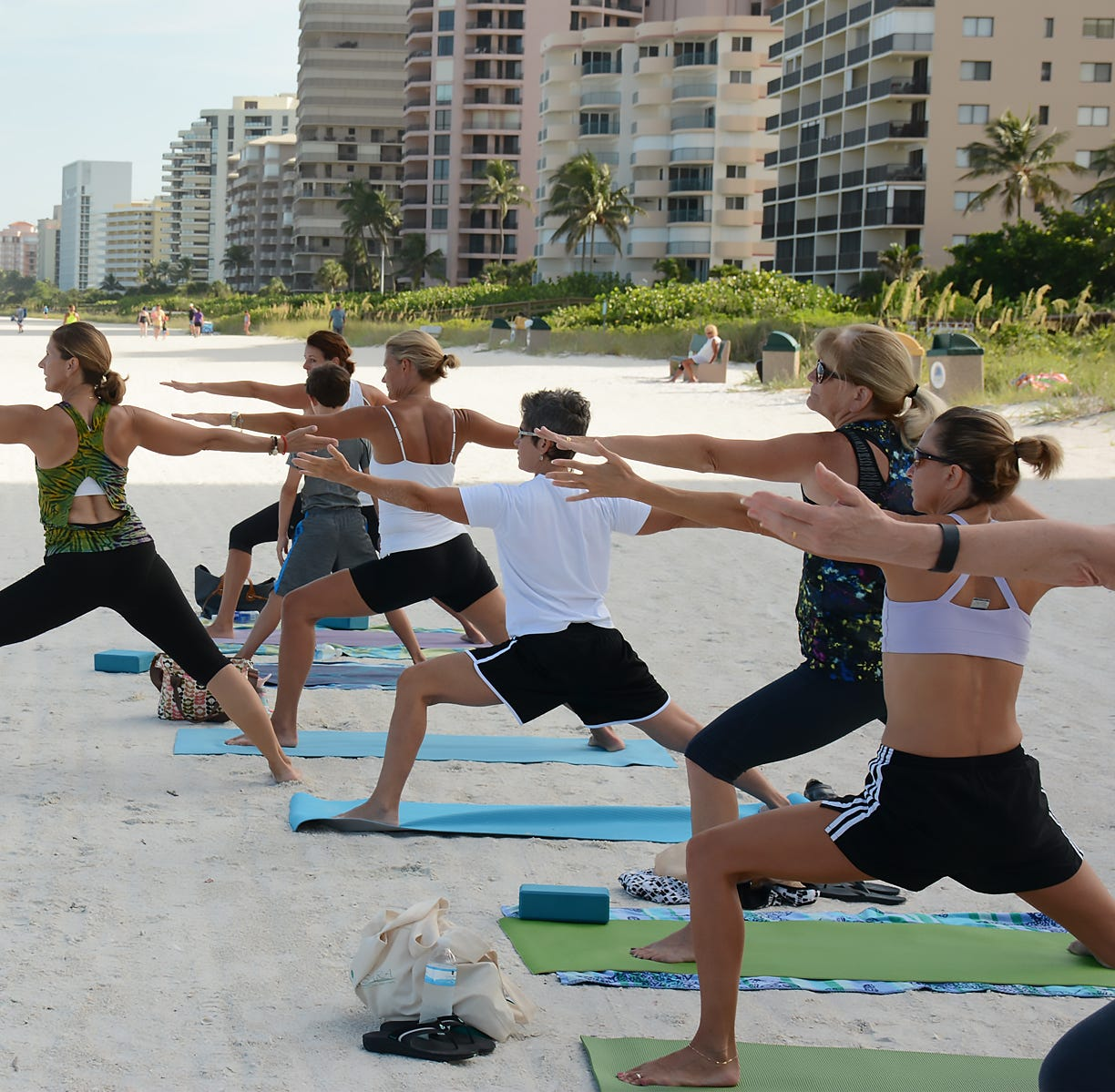 Yoga teachers joining together to help their own