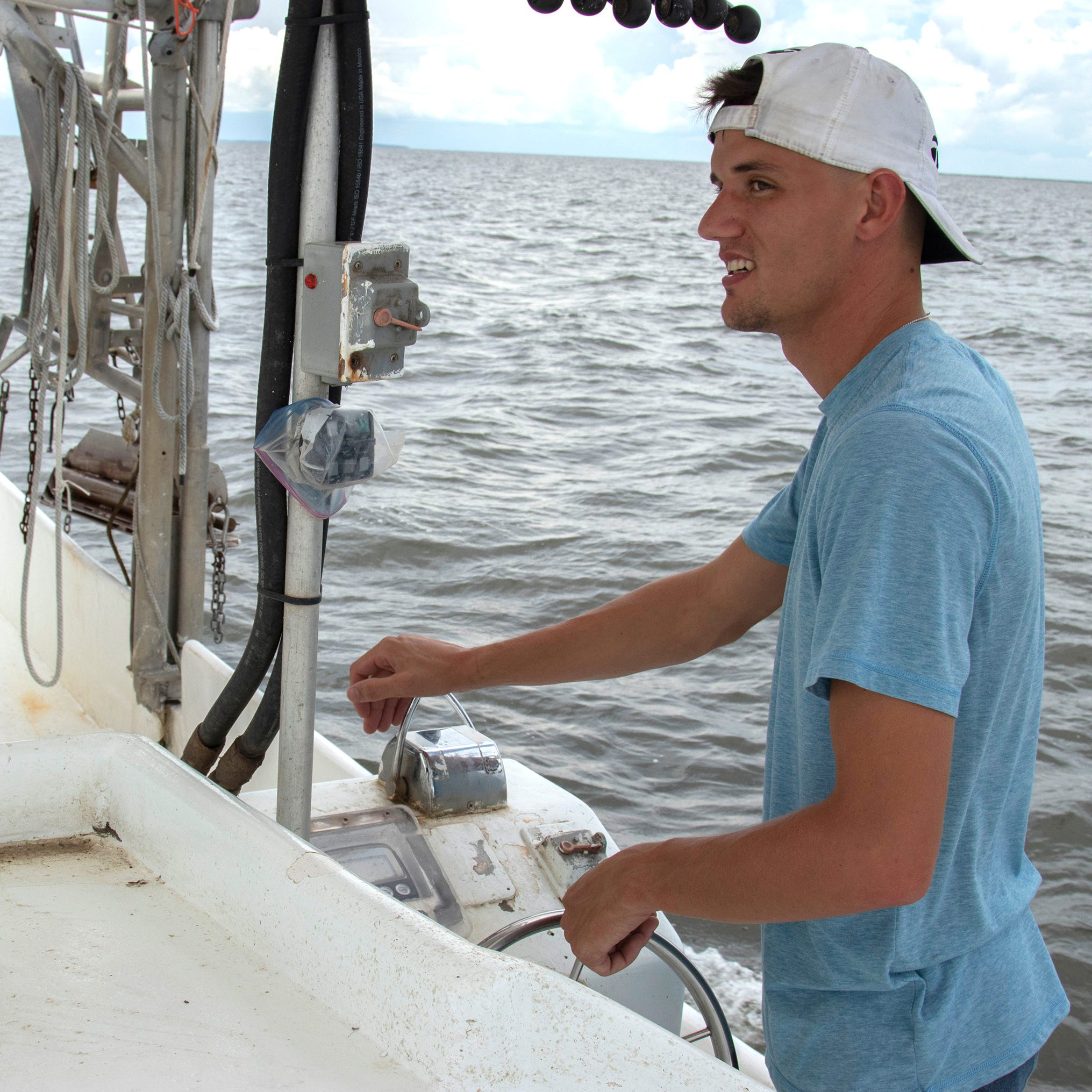 Treading water: Dead zone worsens troubles for Louisiana shrimpers