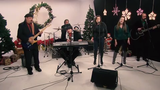 """The Eric Look Band performs """"Santa Please"""" in the Tap Milwaukee studios."""