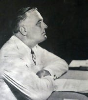 B. Artin Haig shot photos of President Franklin Roosevelt in the White House.