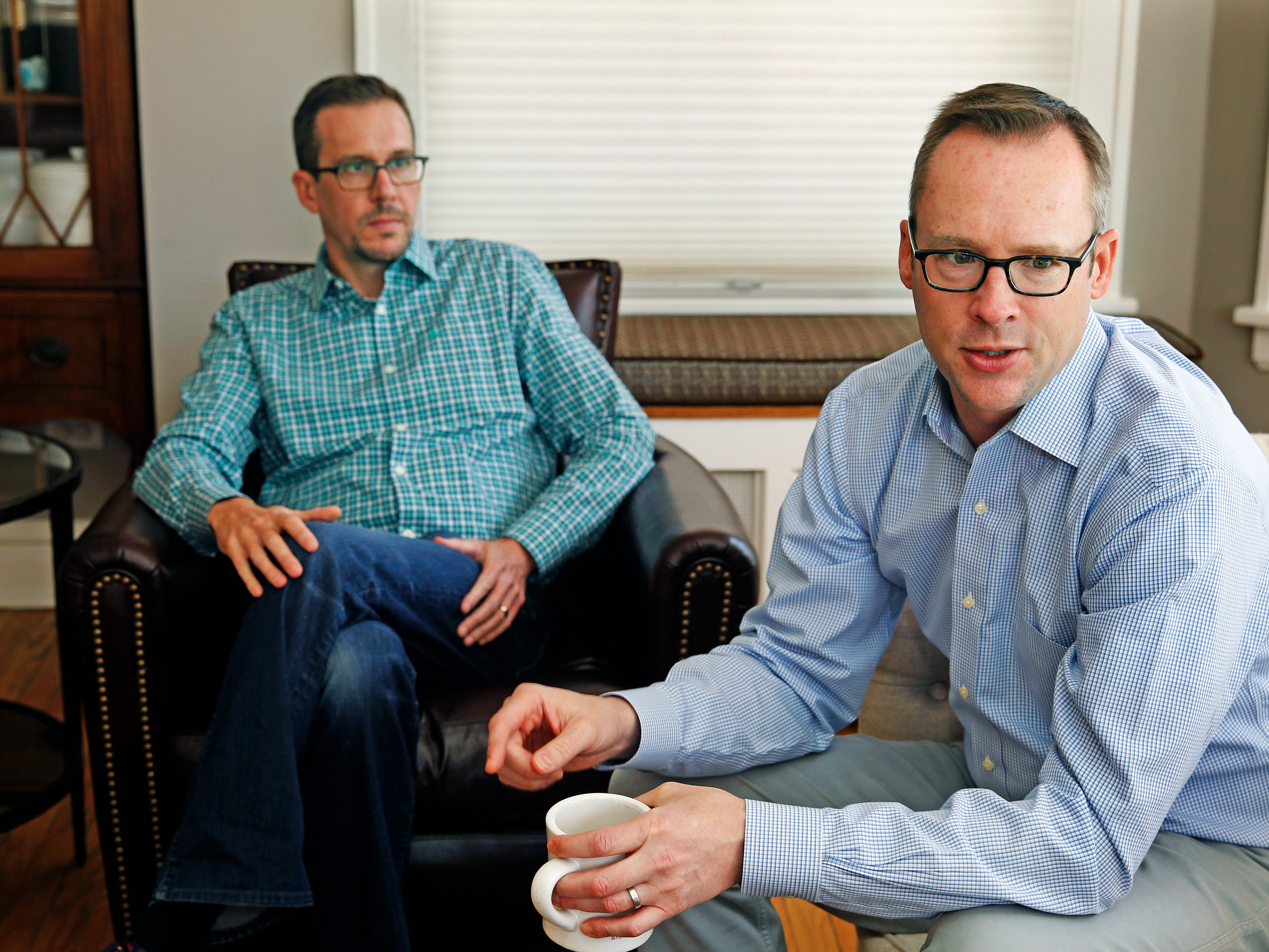 David Keeling (left) and Tim Daly, are two of the founders of EdNavigator.