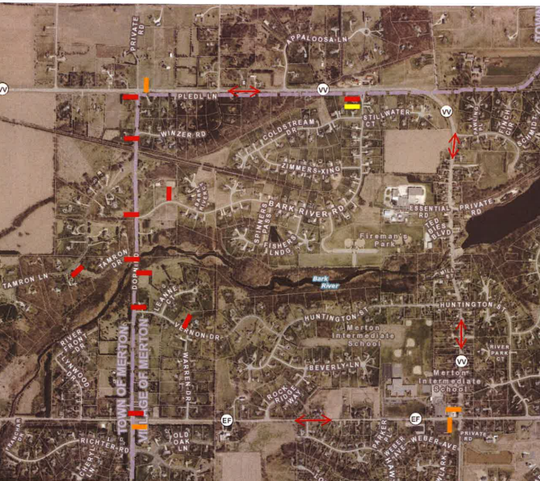 Dorn Road in Merton will close for two weeks in late April.