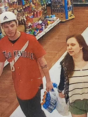 Brentwood Police have named Dustin Russell, 24, left and Lyndsey Bronston, 18, as suspects in the Dec. 3 drive-by shooting that left Clark Cable, 25, dead in his Dozier Court home. They are pictured in this undated photo released by Brentwood Police.