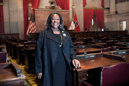 State Rep. Karen Camper spent 21 years in the Army before retiring from the military in 2000.