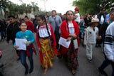 Cienes de personas en Immokalee celebraron el dia de la Virgen de Guadalupe en la iglesia Our Lady of Guadalupe el día 12 de diciembre.