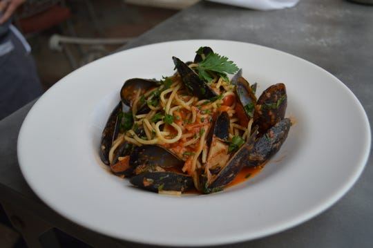 Mussels fra diaviola will be on the menu at D'Amico & Sons in Naples during its Feast of the Seven Fishes 4-9 p.m. Christmas Eve.