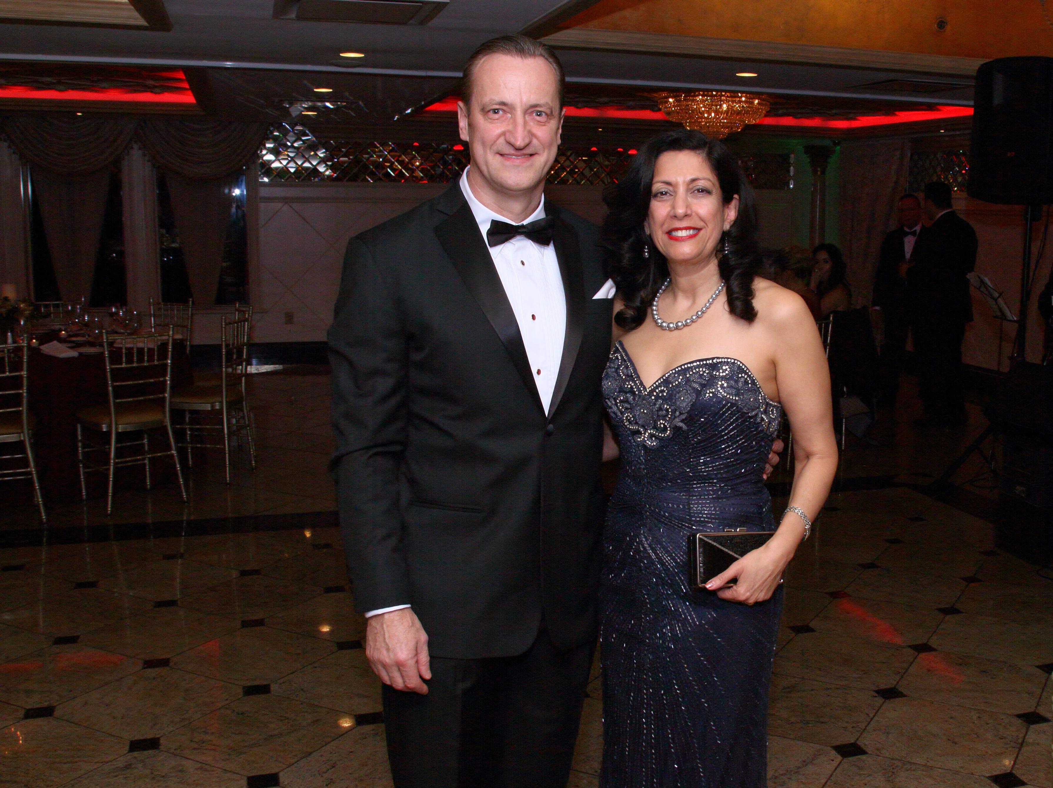 Mark and Helena Zagorski. The Saddle River Valley Club held its annual Holiday Gala celebration at Seasons in Washington Township. 11/30/2018