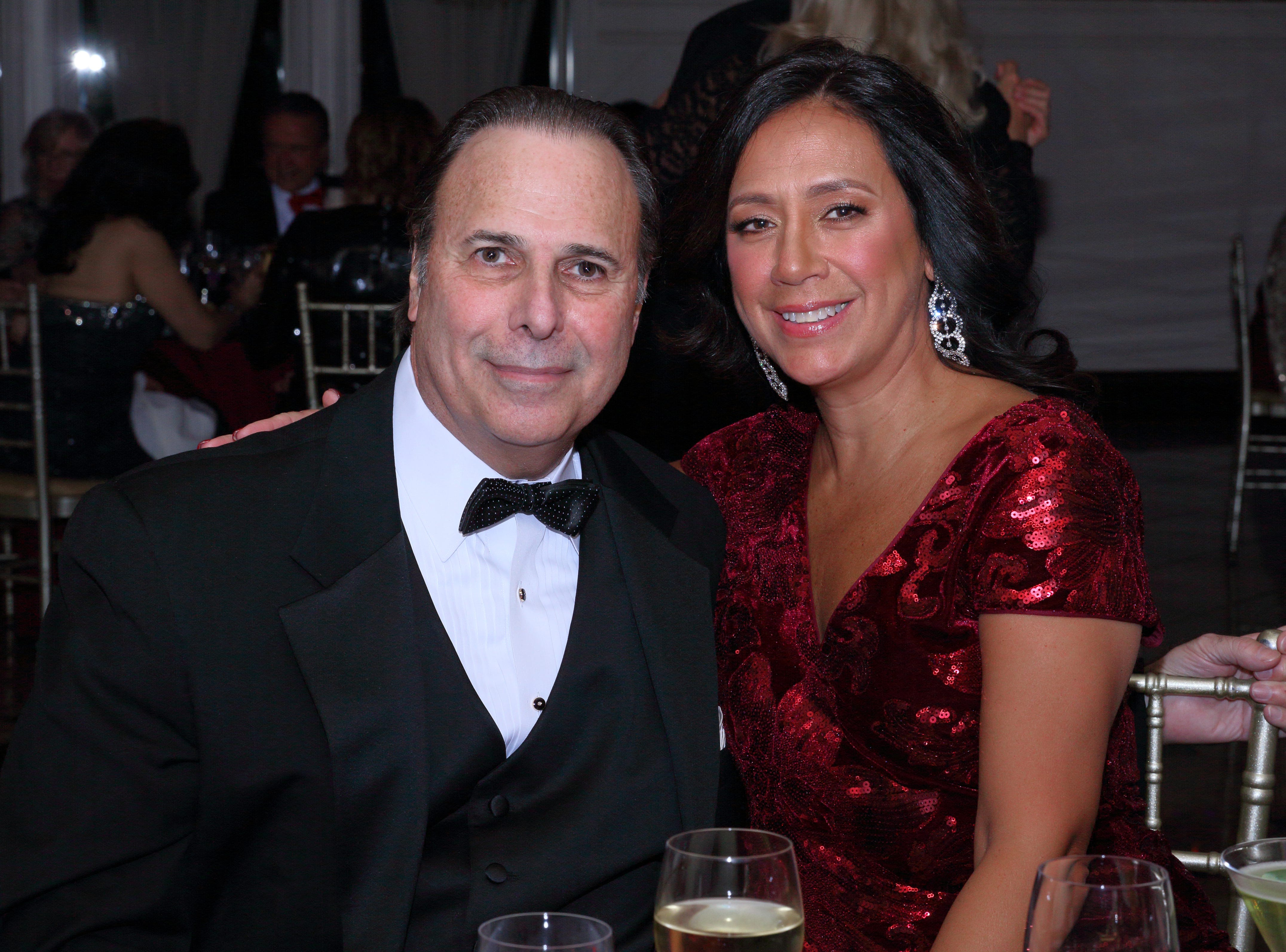 Dr. Ron Sollitto and Gina Diaz. The Saddle River Valley Club held its annual Holiday Gala celebration at Seasons in Washington Township. 11/30/2018