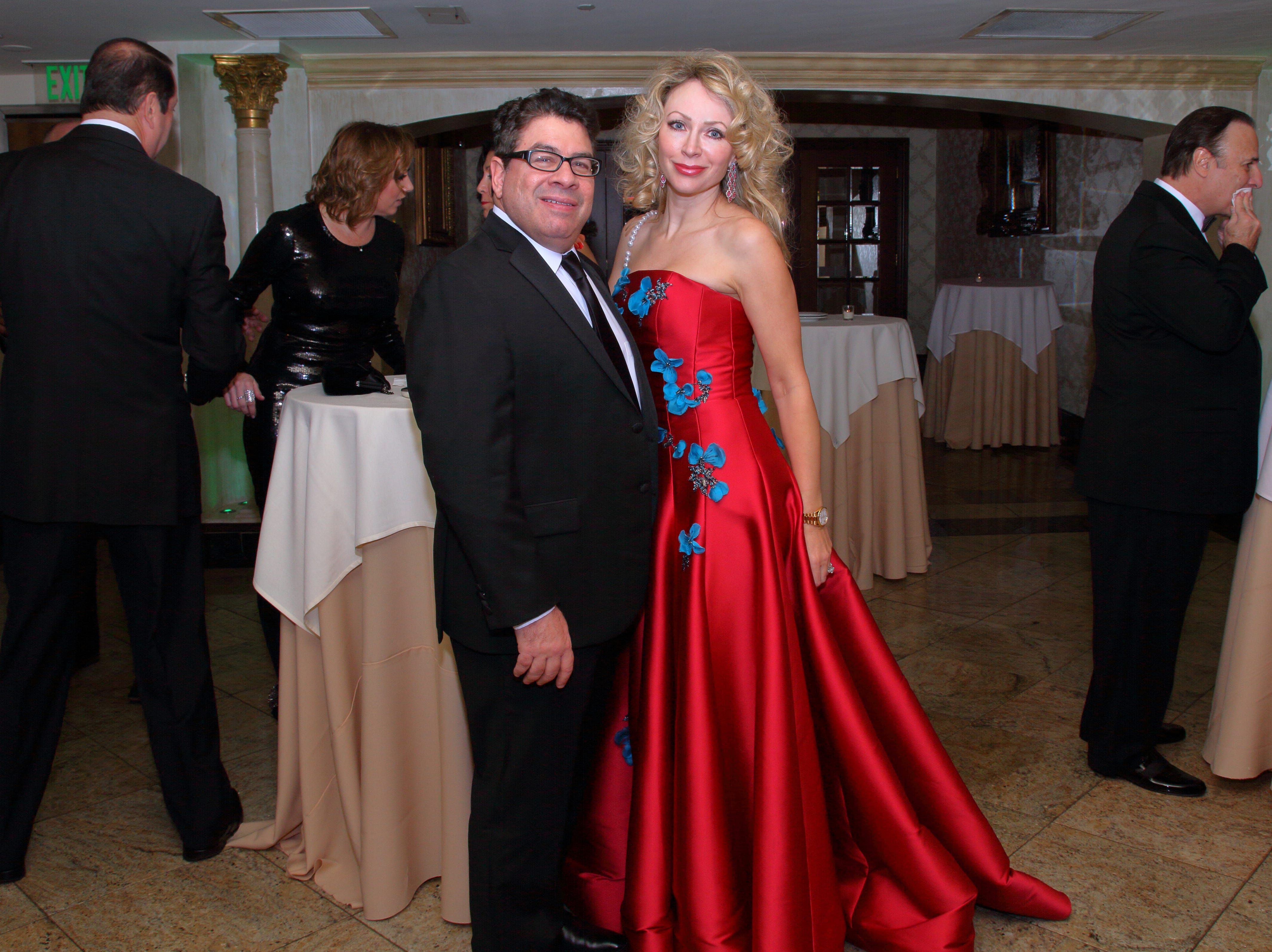 Dr. Steven and Olesya Dane. The Saddle River Valley Club held its annual Holiday Gala celebration at Seasons in Washington Township. 11/30/2018