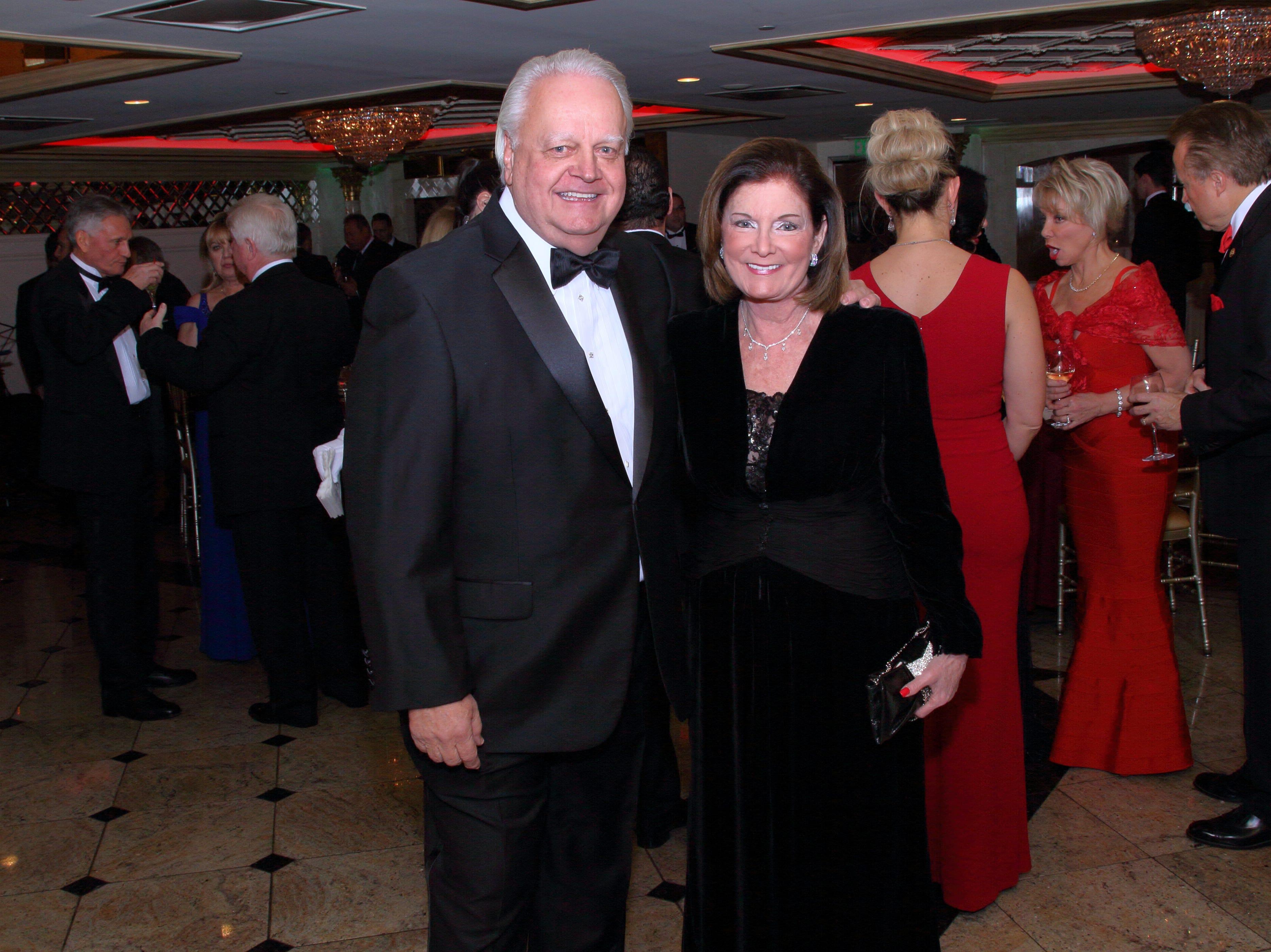 Saddle River Mayor Al Kurpis and his wife Judy Kurpis. The Saddle River Valley Club held its annual Holiday Gala celebration at Seasons in Washington Township. 11/30/2018