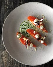 Ocean trout at Viaggio, a must-have on Chef's Bar Menu