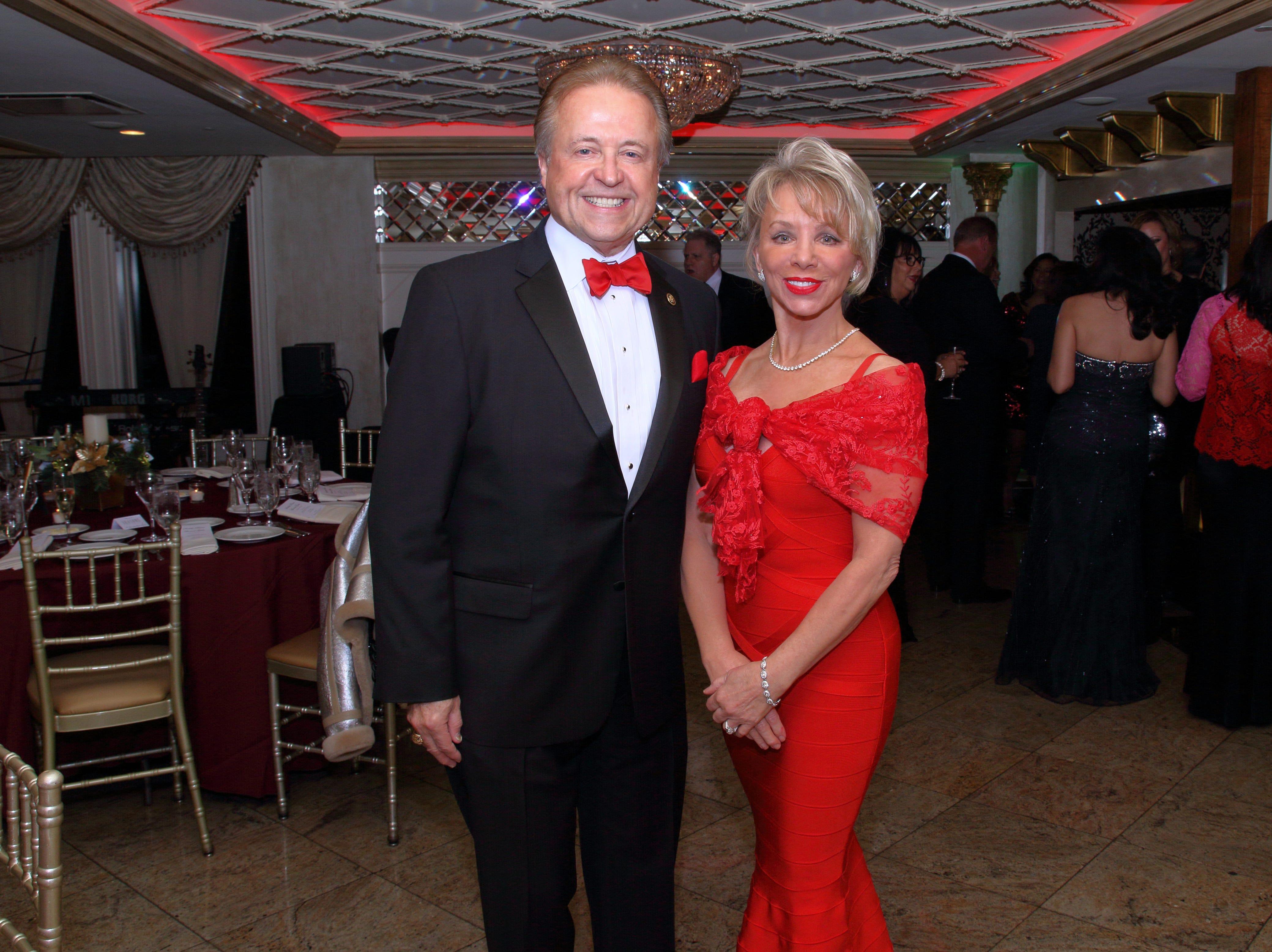 Dr. Robert Lahita and Carolyn Palmer. The Saddle River Valley Club held its annual Holiday Gala celebration at Seasons in Washington Township. 11/30/2018