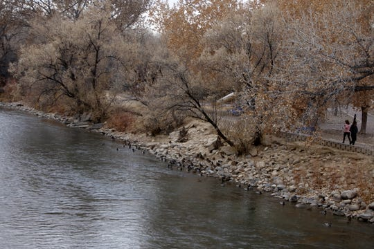 Berg Park East is pictured Wednesday from the Berg Bridge in Farmington.