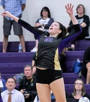 Northville native Emma Schlagheck, a senior right-side hitter at Wixom St. Catherine of Siena Academy, earned Division 2 All-State honors this season.
