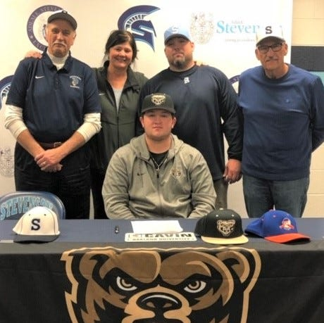Stevenson's Cavin inks baseball letter of intent with Oakland University