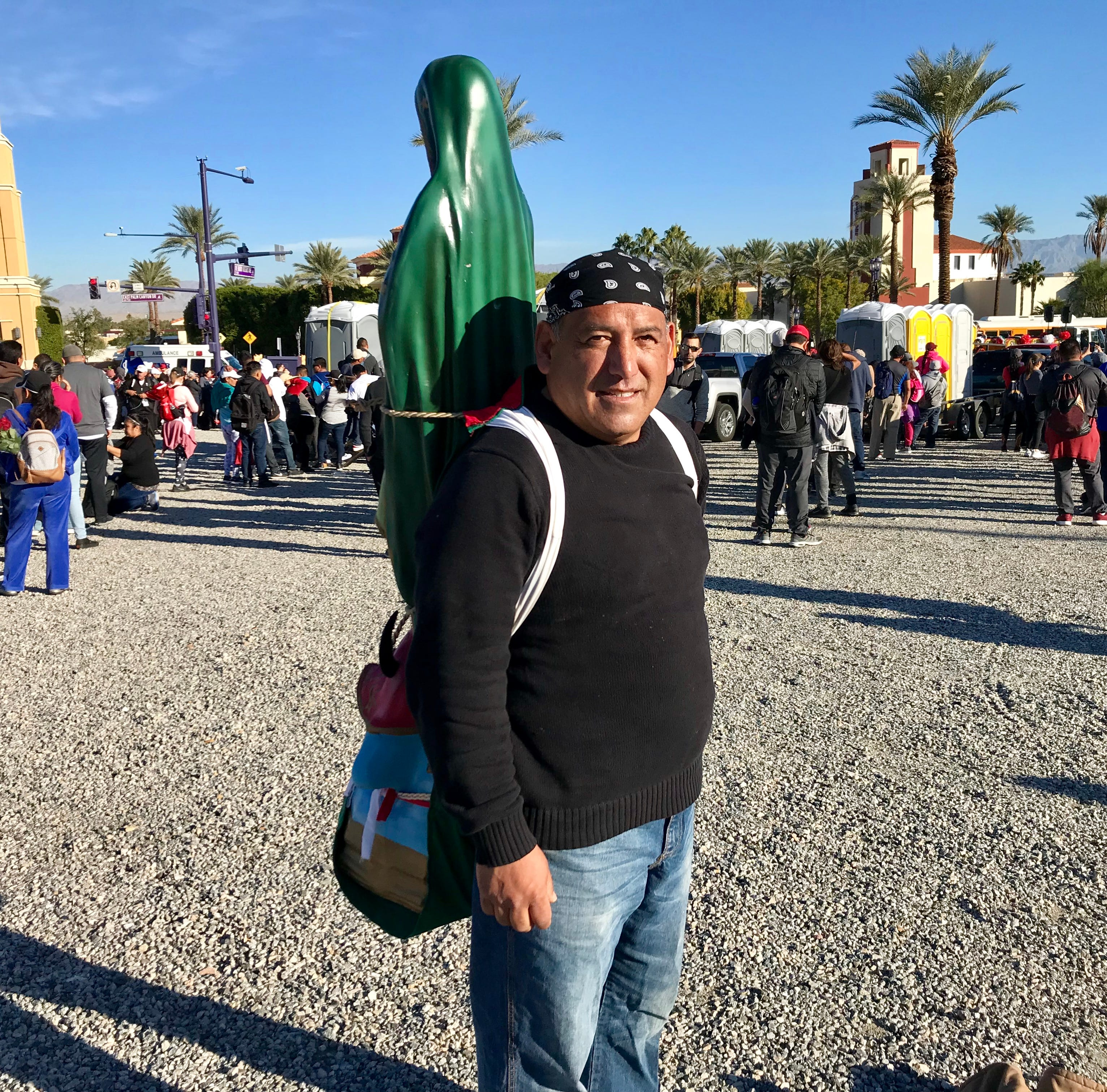 Valley Catholics display their devotion with Virgen de Guadalupe pilgrimage, longest in U.S.