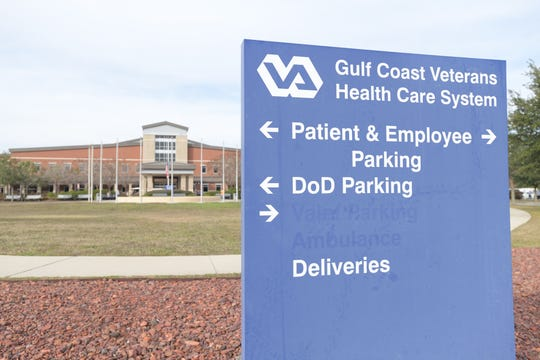 Gulf Coast Veterans Health Care System's Veteran Affairs' Joint Ambulatory Care Center in Pensacola on Wednesday, December 12, 2018.