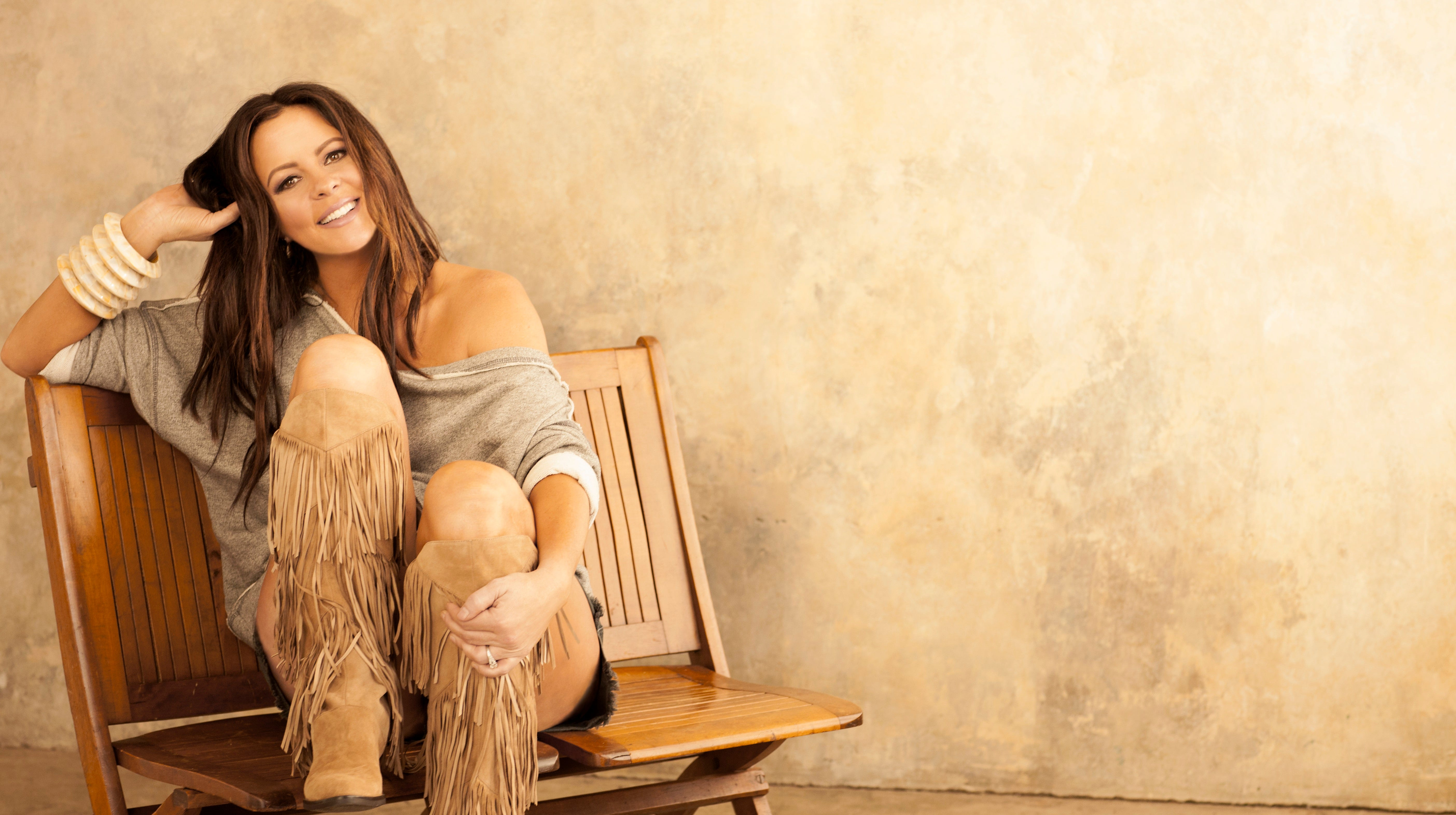 """Sara Evans will perform her """"At Christmas"""" show Friday evening at the Pensacola Saenger Theatre."""