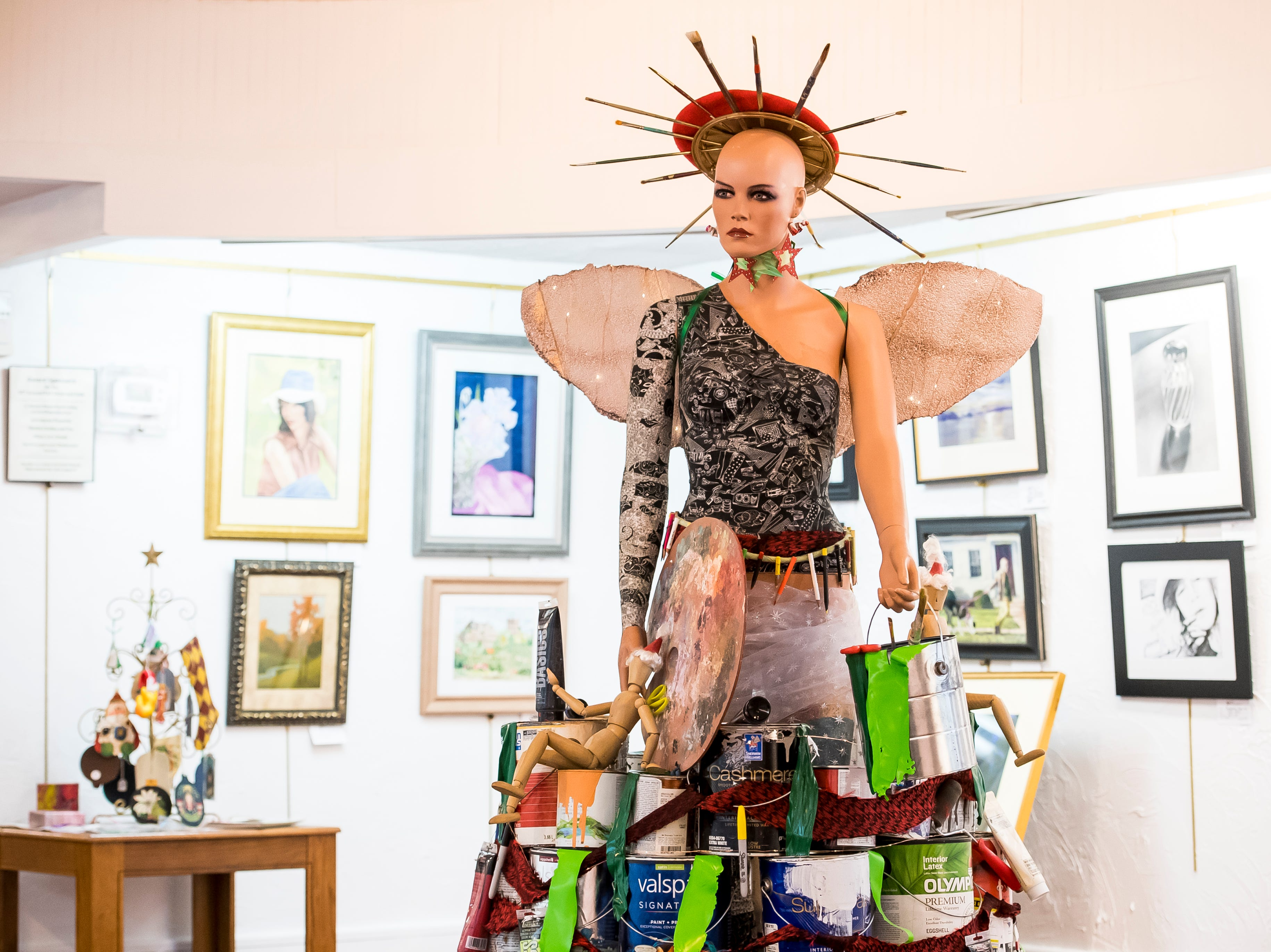 Hanover Area Arts Guild located at 32 Carlisle St. Visit mainstreethanover.org for details about Christmas Tree Wars.