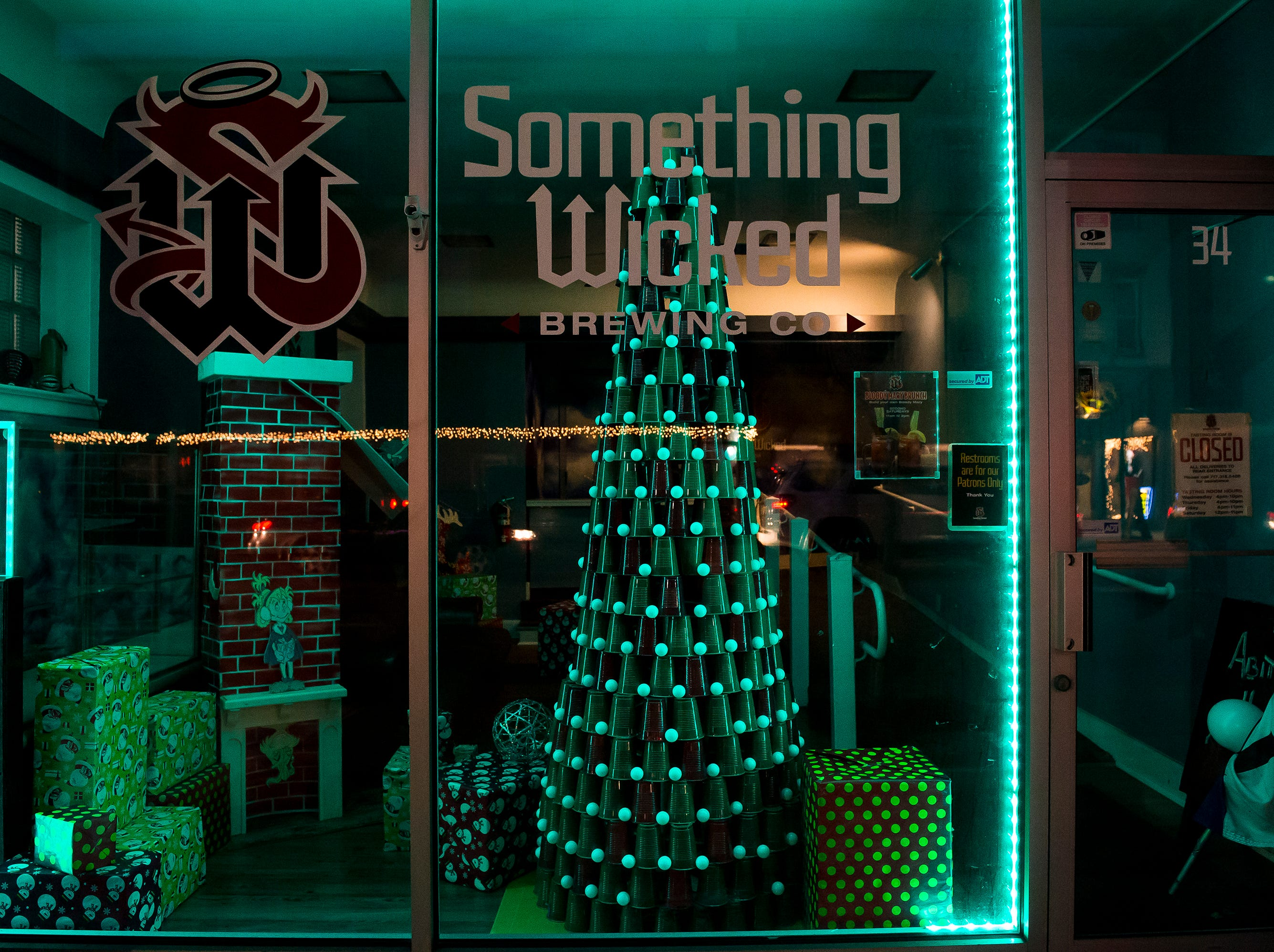 Something Wicked Brewing Co. located at 34 Broadway. Visit mainstreethanover.org for details about Christmas Tree Wars.