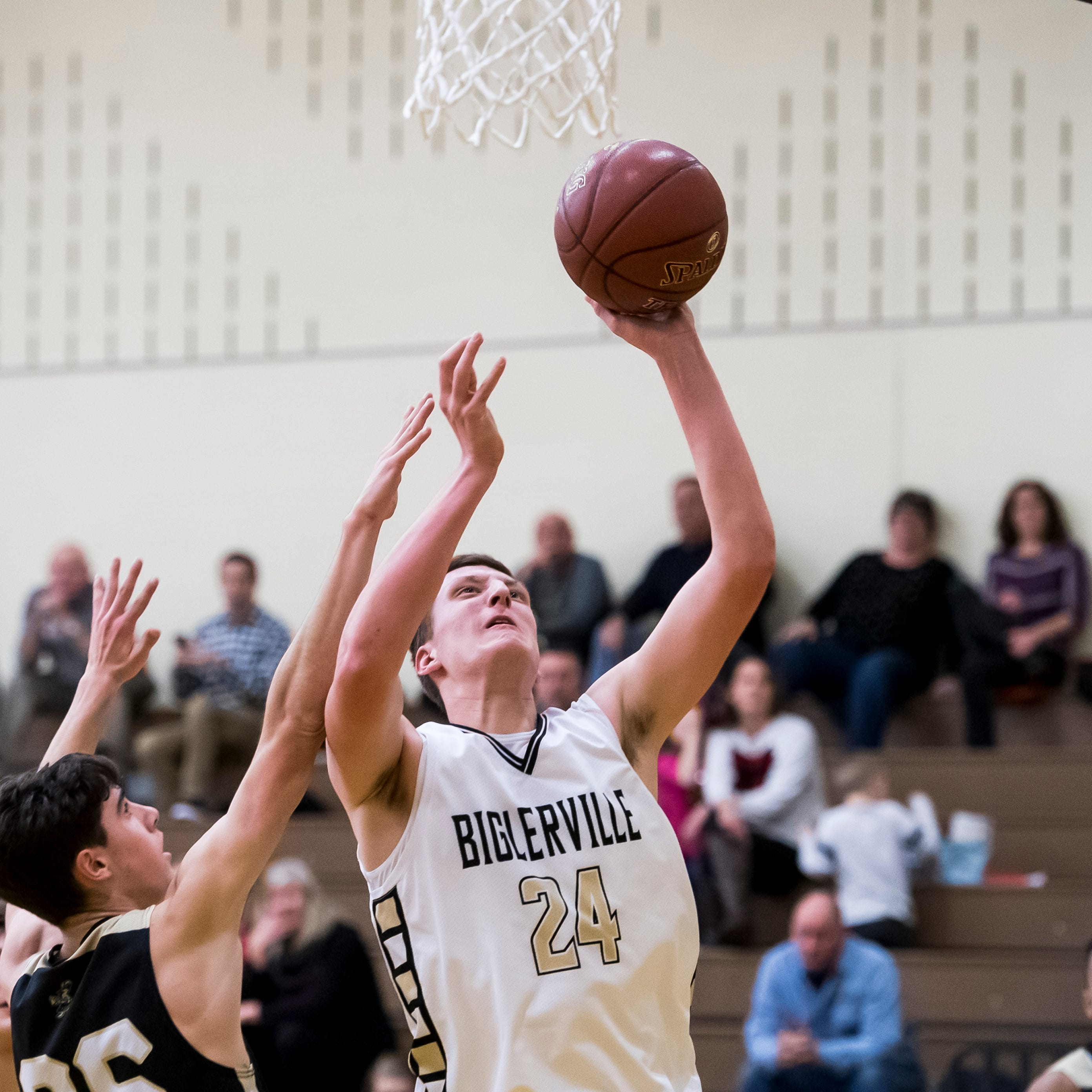 'Fired up': Biglerville drops Delone for statement win in boys' hoops