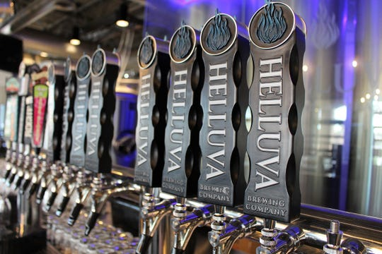 Helluva Brewing Company in Chandler boasts two 20-tap systems.
