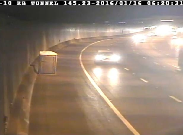 "In 2016, ADOT tweeted, ""Here's something you don't want to hit: A porta potty that ended up in the I-10 tunnel, eastbound."