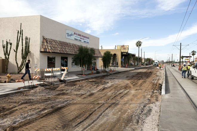 Mesa Mayor John Giles said there's been more than $200million in investment in new business and housing along the stretch of light rail in Mesa.