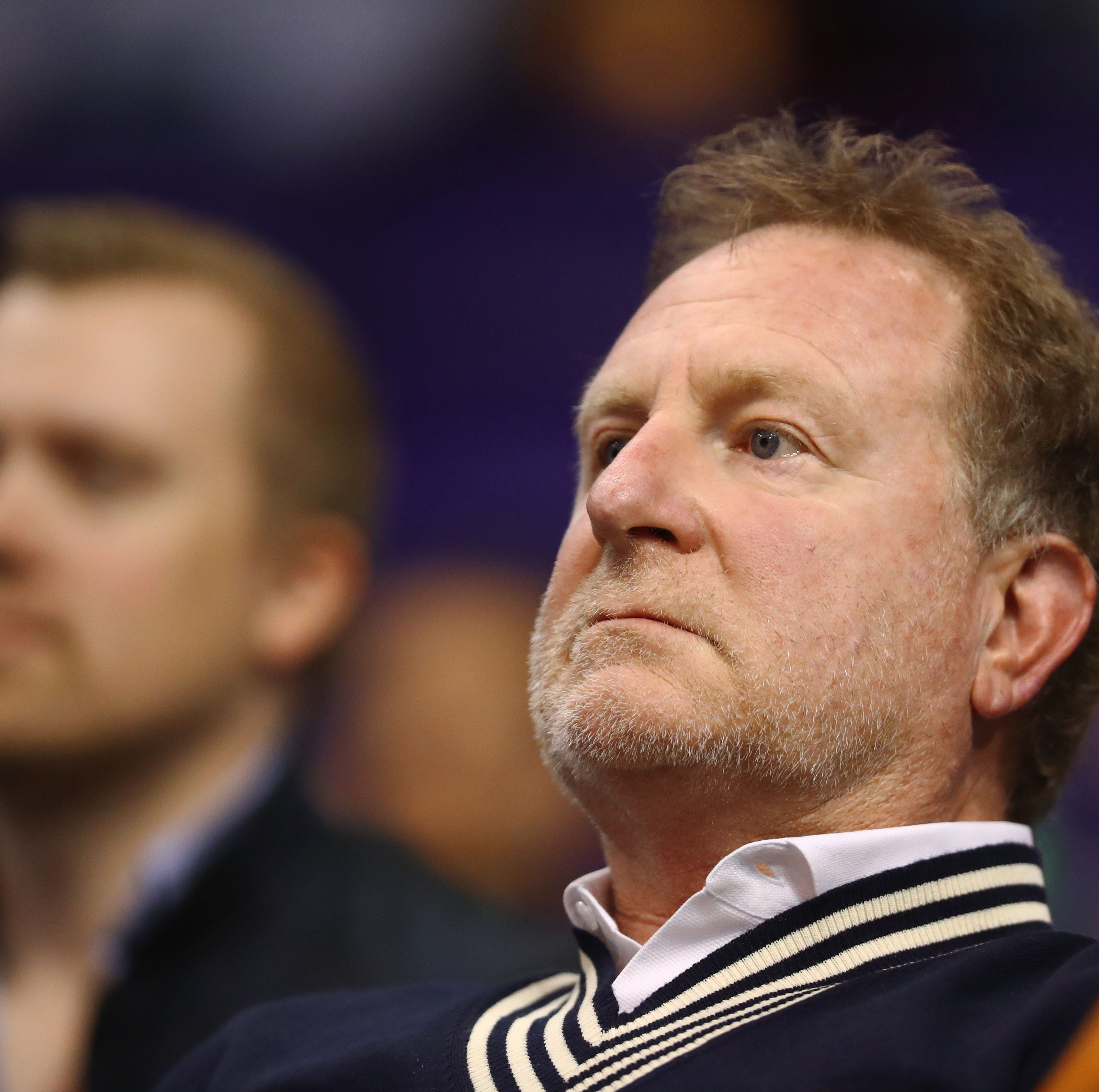 Robert Sarver has apparently threatened to move the Phoenix Suns to Seattle or Las Vegas