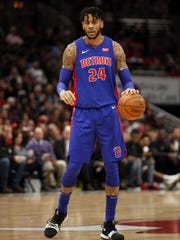 Eric Moreland has played in 78 games over three NBA seasons with Detroit and Sacramento.