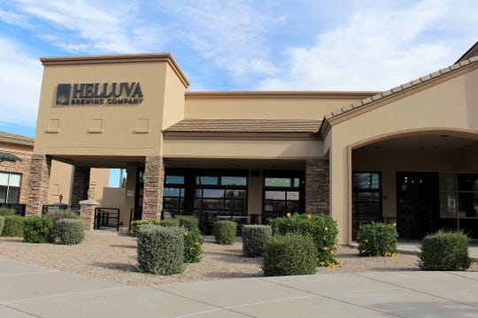 Helluva Brewing Company in Chandler opens on Monday, Dec. 17, 2018.