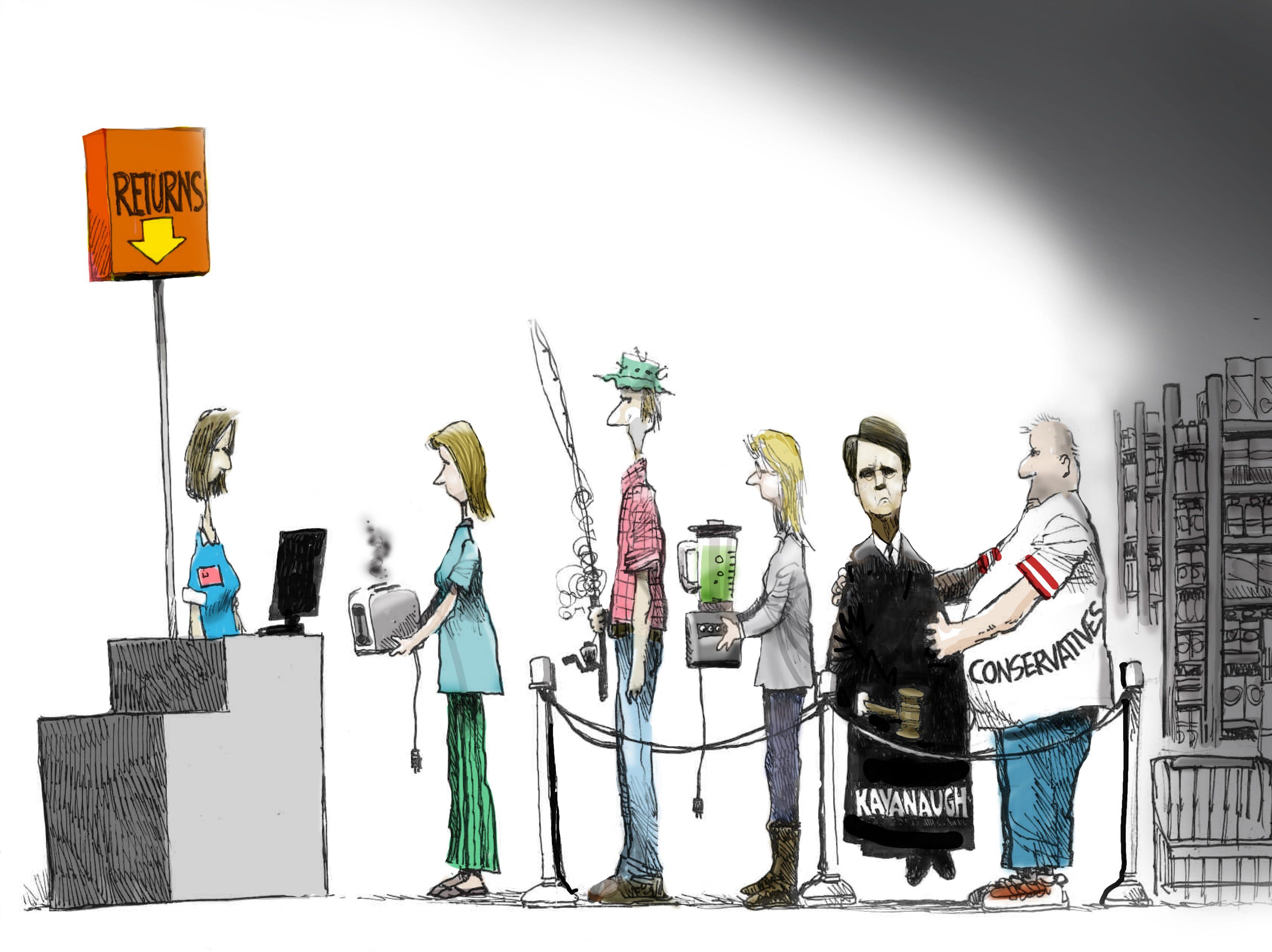 Cartoon for Dec. 12, 2018.