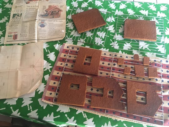 We baked the house according to the plan -- sort of.
