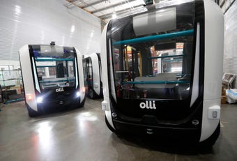 Meet Olli, the world's first self-driving electric shuttle by Local Motors near Chandler.