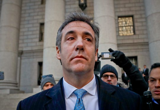 Michael Cohen, ex abogado de Trump.