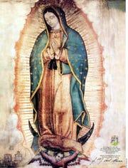 La Vírgen de Guadalupe, santa patrona de los mexicanos