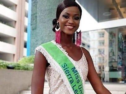 Eliminan a Sierra Leona de Miss Universo