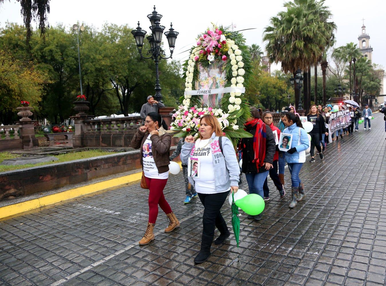 Miles de feligreses salieron a las calles o llenaron sus templos para adorar a la Vírgen Morena en su día, el 12 de diciembre del 2018.