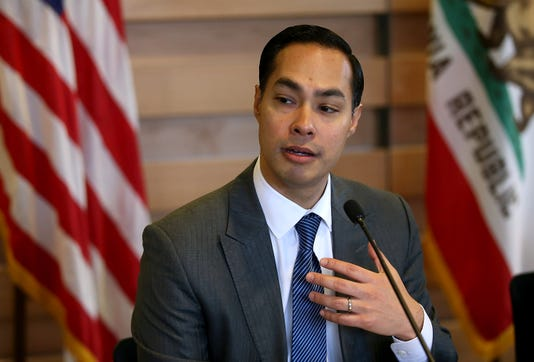 Julian Castro Tours New Housing Facility For Recently Homeless Vets In Ca