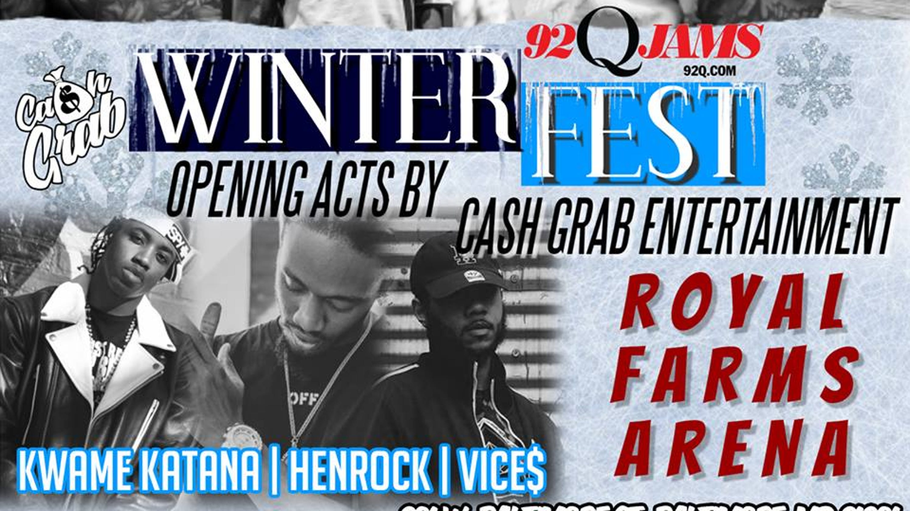 Pa  rappers Kwame Katana, Henrock, Vice$ to perform in Baltimore
