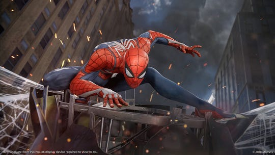 Marvel's Spider-man for PS4.
