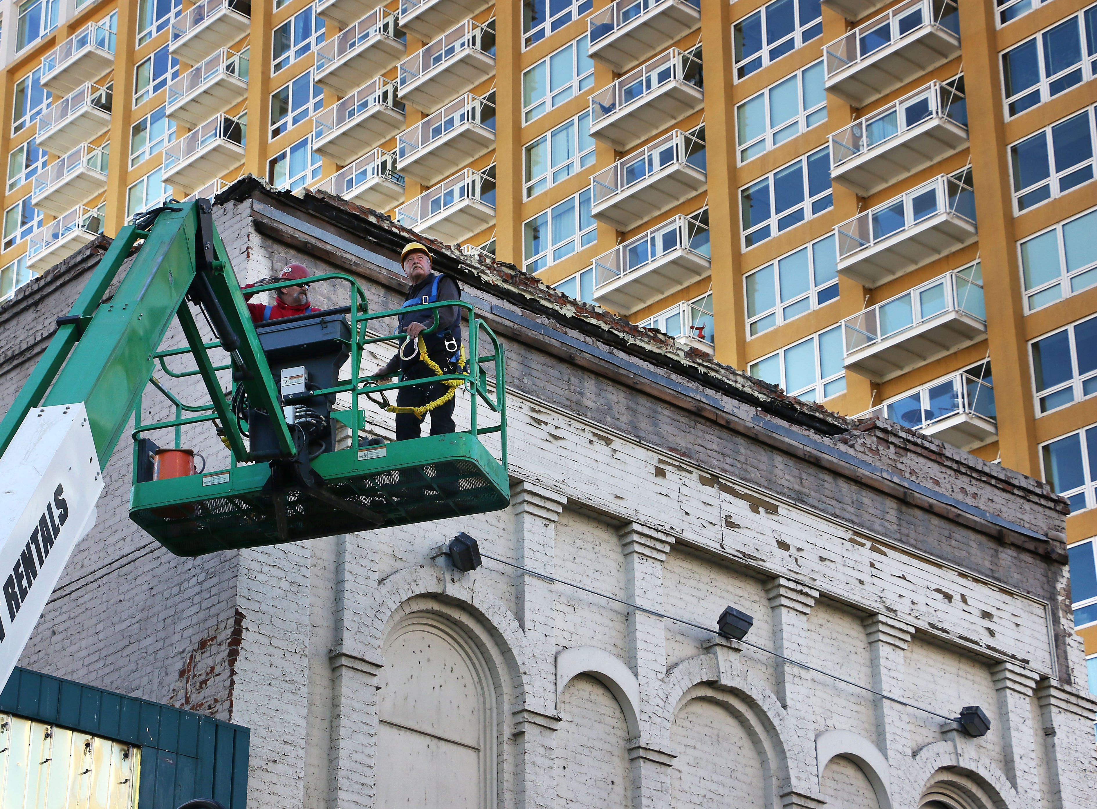 More than 140 years later, the end of the road begins for Reno's oldest building