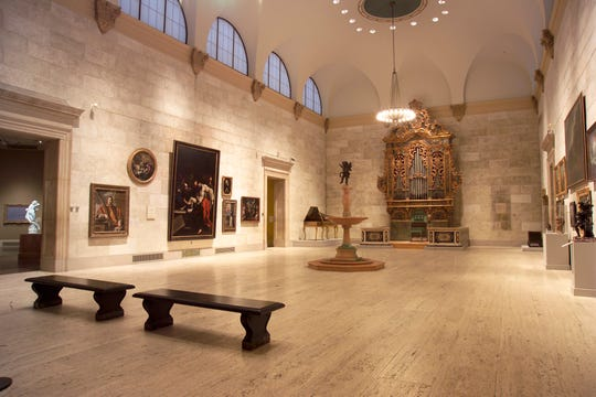 """The Memorial Art Gallery's next Third Thursday concert, """"Angels and Shepherds,"""" happens Dec. 20 in the gallery's Fountain Court."""
