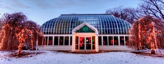 The Highland Park and Lamberton Conservatory's Holiday Botanical Show is on display through Sunday, Jan. 6, except on Christmas Day.