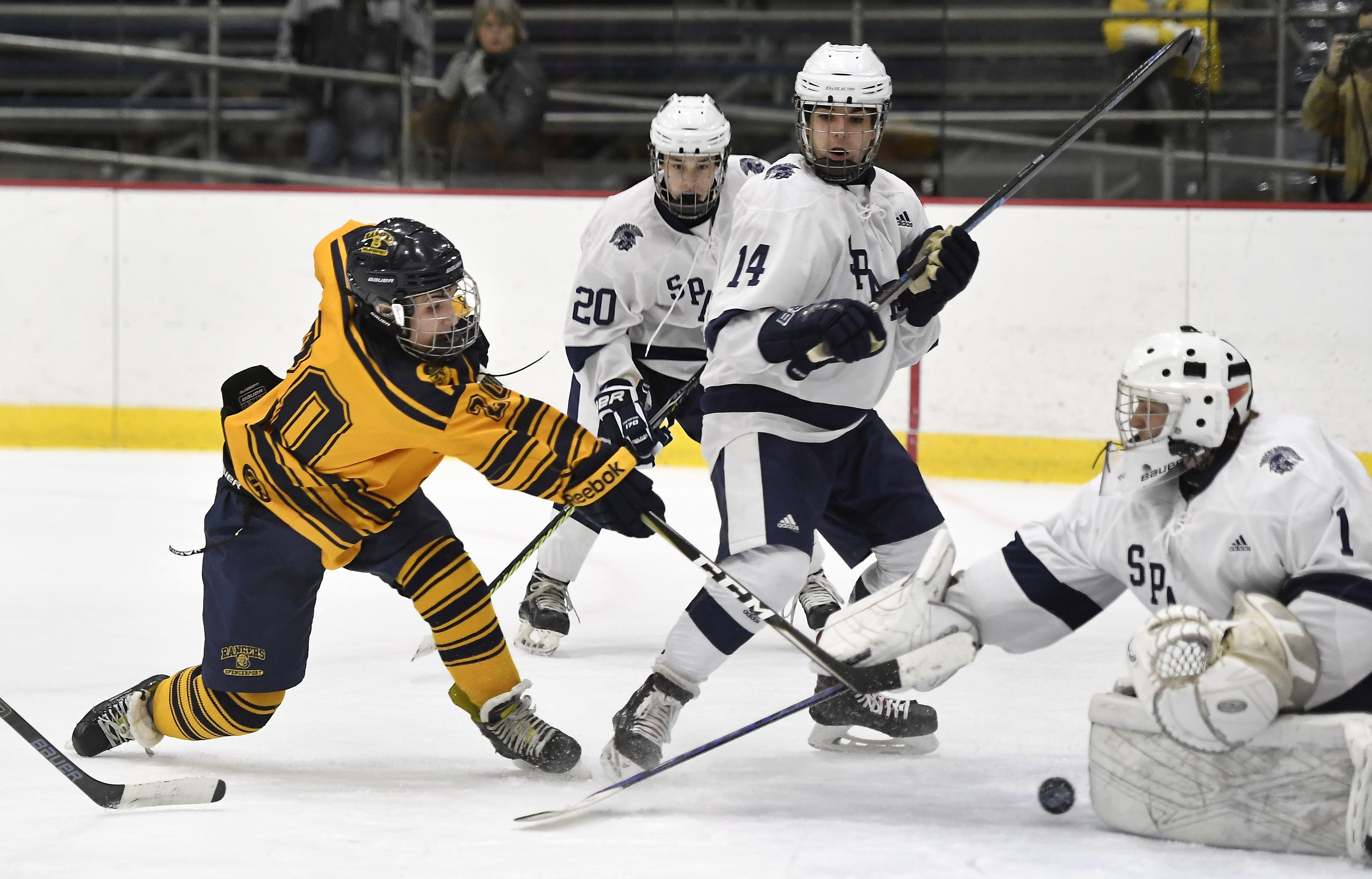 From two wins to division champs, Spencerport hockey enjoys turnaround season