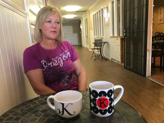 "Kathleen Saxer, who owns Downtown Java & Cafe, talks about Kurt Hibbard, whose barbershop sat next door to her business. Saxer would often serve Hibbard's favorite Earl Grey tea in a ""K"" mug."