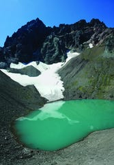 Glacial lake.