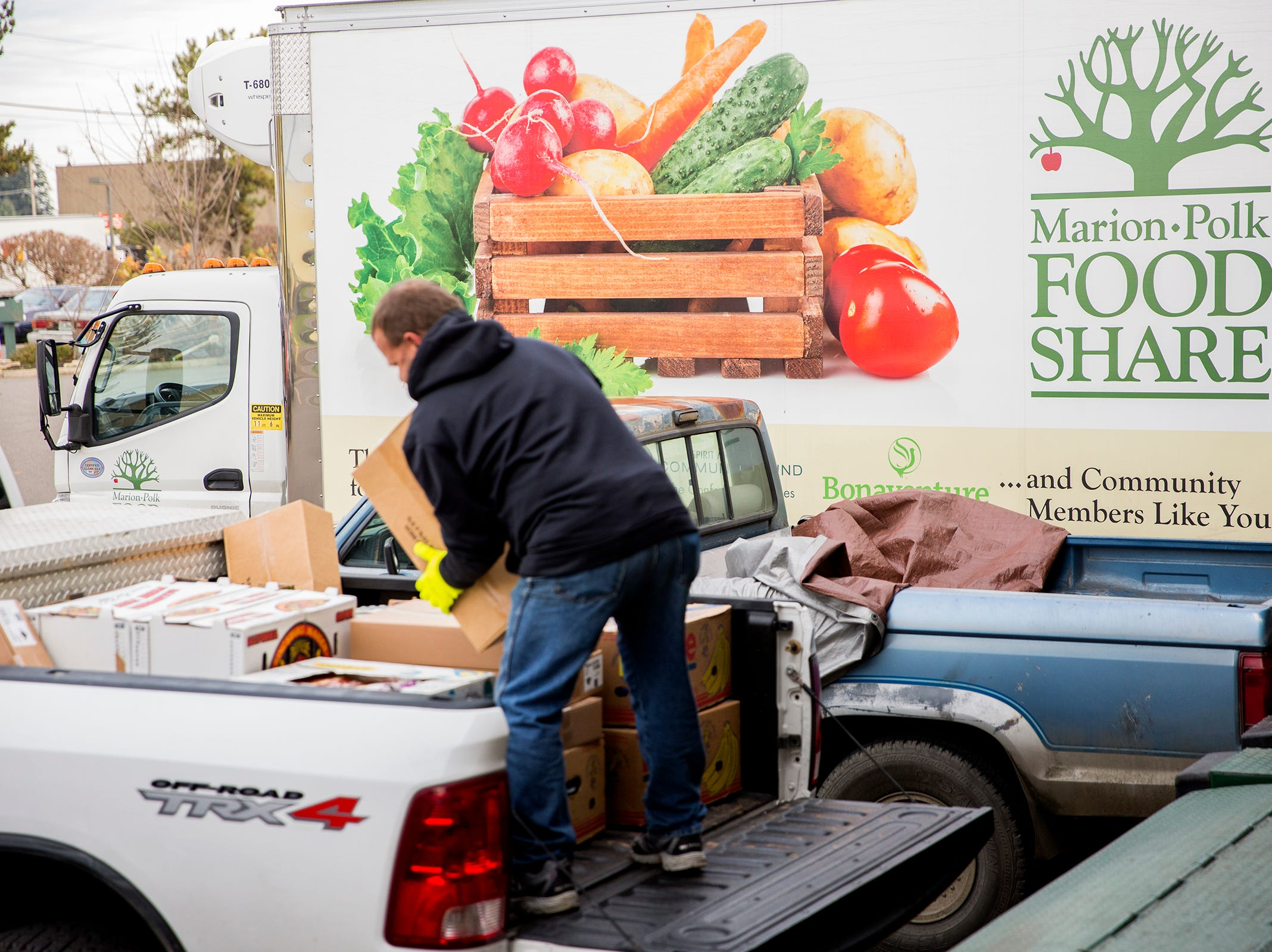Marion-Polk Food Share, shown on Friday, Dec. 7, 2018, serves more than 40,000 people each month.